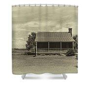 Osceola Ave Shower Curtain