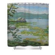 Oseetah Lake Cove Shower Curtain