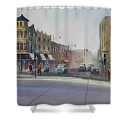 Oshkosh - Main Street Shower Curtain
