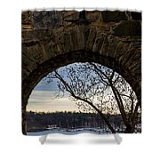 Oslo From Akershus Fortress Shower Curtain