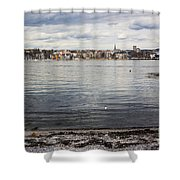 Oslo Waterfront Shower Curtain