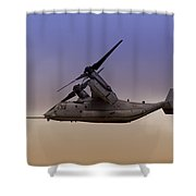 Osprey In Flight IIi Shower Curtain