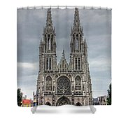 Ostend Belgium Shower Curtain