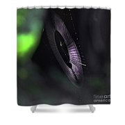 Other Worldly Weave Shower Curtain