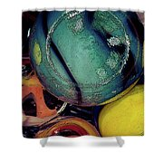 Other Worlds I Shower Curtain