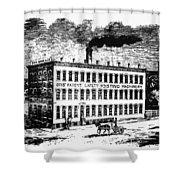 Otis Elevator Factory Shower Curtain