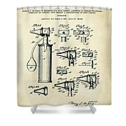 Otoscope Patent 1927 Old Style Shower Curtain