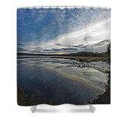 Otters View Shower Curtain