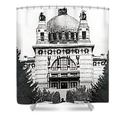 Ottowagners Church Shower Curtain