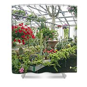 Ott's Greenhouse  Schwenksville Pennsylvania Usa Shower Curtain
