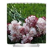 Forgotten Bouquet  Shower Curtain