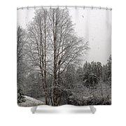 Oulanka 2 Shower Curtain