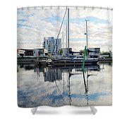 Oulu From The Sea 1  Shower Curtain