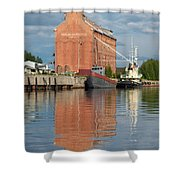Oulu From The Sea 3 Shower Curtain