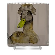 Our Crested Drake Shower Curtain