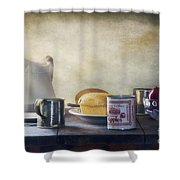 Our Daily Bread Shower Curtain