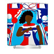 Our Flag Of Freedom 3 Shower Curtain
