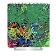 Our Green Planet Shower Curtain