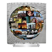 Our Heritage Our Place Shower Curtain