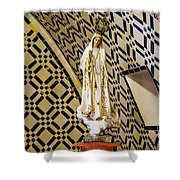 Our Lady Of Fatima Shower Curtain