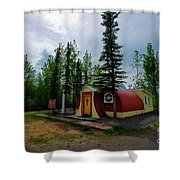 Our Lady Of Grace Beaver Creek Yt Shower Curtain