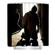 Our Lady Of Guadalupe Celebrations Shower Curtain