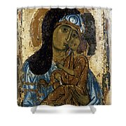 Our Lady Of Tenderness Shower Curtain