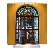 Our Lady Of The Orient Shower Curtain