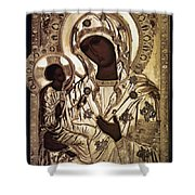 Our Lady Of Yevsemanisk Shower Curtain