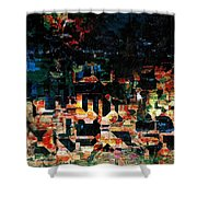 Our Little Town Shower Curtain