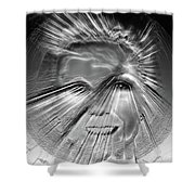 Our Souls Light The Way Shower Curtain
