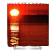 Our Star Rising Two  Shower Curtain