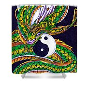 Ouroboros Unleashed Shower Curtain