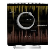 Ourorboros  Shower Curtain