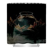 out from Jar  Shower Curtain