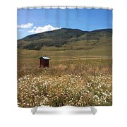 Out House Shower Curtain