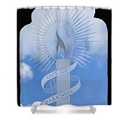Out Of Darkness Shower Curtain