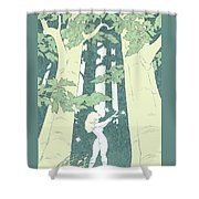 Out Of Hand Shower Curtain