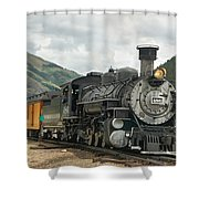 Out Of Here Shower Curtain