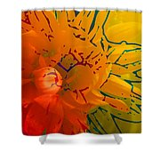 Out Of It Shower Curtain