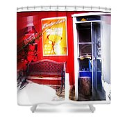 Out Of My Calling Area Shower Curtain