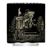 Out Of Shadow Shower Curtain