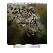 Out Of The Brush Shower Curtain