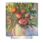 Out Of The Garden Shower Curtain