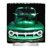 Out Of The Shadows - 51 F100 Ford  Shower Curtain