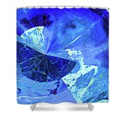 Out Of This World Abstract Shower Curtain