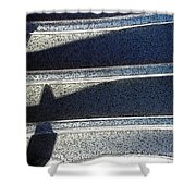 Out Shadows Shower Curtain