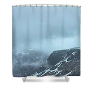 Out There Among The Clouds Shower Curtain