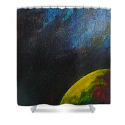 Out There Shower Curtain