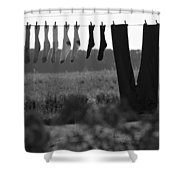 Out To Dry Shower Curtain